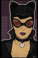Catwoman by Tebyx