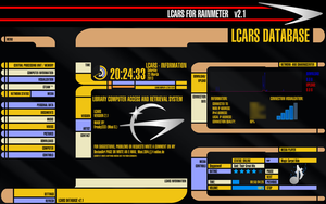 LCARS for Rainmeter v2.1 by Freaky333