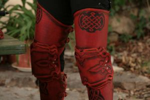 Legs armour detail by Bear-Crafter