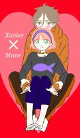 Xavier X Mave by NerdFunction