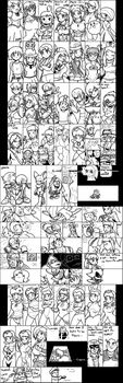 Miiverse Doodles 1 by Ukato-drawings