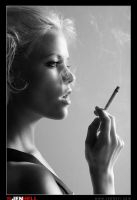 cigarette girl by JenHell66