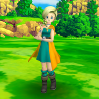 Dragon Quest V: Bianca by wadamen