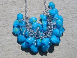 Blue Skies Necklace 2 by Mommy-of-Monsters