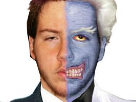 Me as Two Face by Wessel