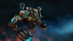 Dota 2 - Elder Titan - Harness of the Soulforged by Lothrean