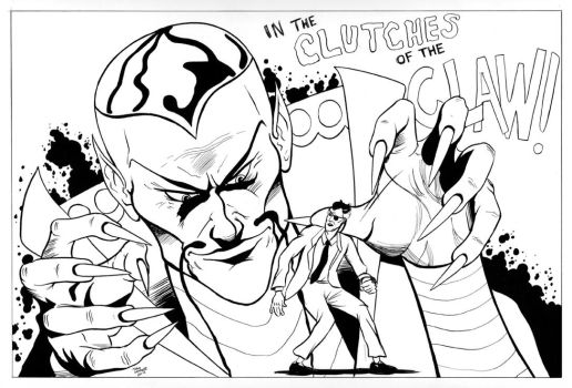 Nick Fury Clutches of the Claw by TroyHoover