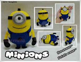 Minions Plush by SongAhIn