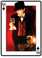 Manzin, King of Hearts by RayrayDesigns