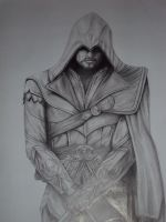 Ezio Auditore by MaryInChains