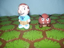 Fred Figglehorn Miniature by SpacePirateKhan