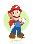 Mario by MKDrawings