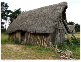 Anglo Saxon House by In-the-picture