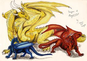 Dragons of Alagaesia by Saeros2006