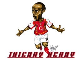 Thierry Henry by gunner13