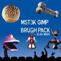 MST3K GIMP Brush Pack by Scar-Wars