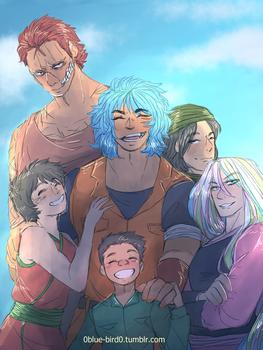 Toriko Week Day 1 - IGO/4 Kings by Sogequeen2550