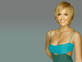 Jessica Alba Wallpaper by stuffor