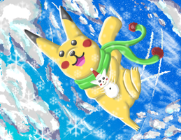 Macy's Pikachu by CrystalWolf953