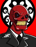 Red Skull by GearBluesRevolver