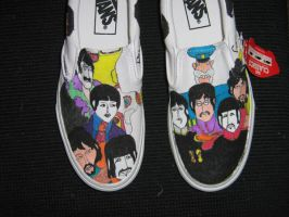 another Beatles yellow submari by brolicdesigns