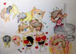 :BG: Chibi party by The-Angel-D
