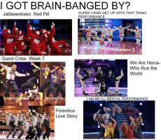 Who I Got Brain-Banqed By by lilubrownie