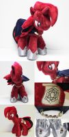 Master Spectre Plush by ShiloT