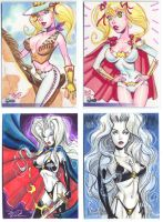 girlie cards by MichaelDooney