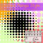 Dotted Manga Style Brushes by Coby17