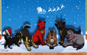 Christmas Group Picture by Jenny2-point-0