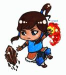 Legend of korra : Korra chibi by xren1
