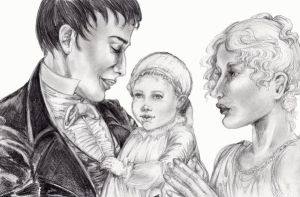 Enjolras Family 1807 by ColonelDespard