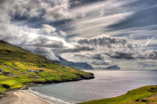 View of Leynar and Koltur by madshelgi