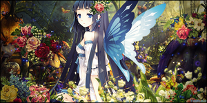 Flowers Fairy by TH3M4G0