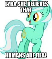 lyra she knows us! by supertnttroll1