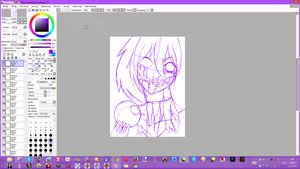 Creepy Girl W.I.P by Lali-the-Bunny