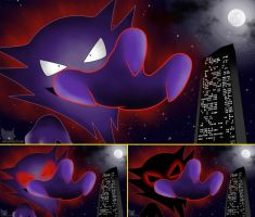 Lavender Town Haunter Wallpaper(s) by MegamanXstream