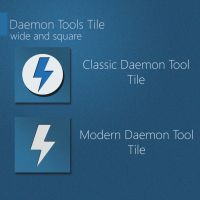 Daemon Tools Tile for OblyTile by Schamil