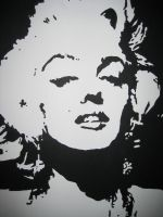Marlyn Monroe. by NeverWould