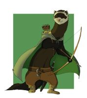 Napier Hilson - Commish by shani-hyena