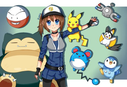 Gotta catch 'em all! by Kumi0