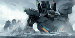 Pacific Rim-Jaeger by dansk