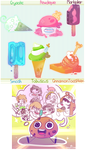 Youtubers Ice creamu by Cheapcookie