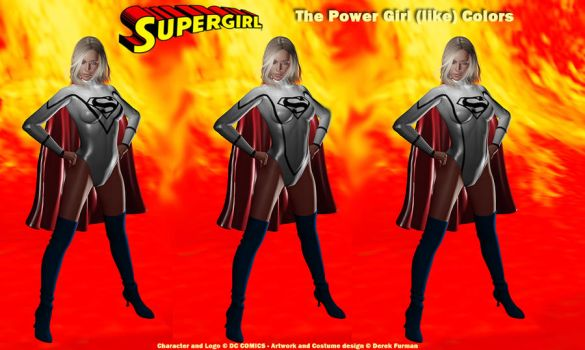 More Supergirl New Design x 3 by dlfurman