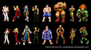 All Genders: Street Fighter by andre4boys