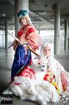 Okami: Waka Amaterasu and Shiranui by Risachantag