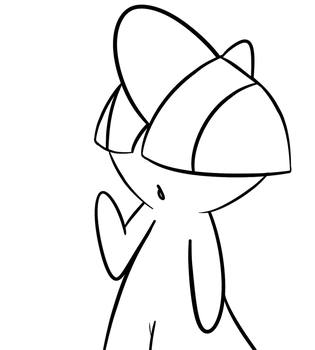 Ralts by pinkprince