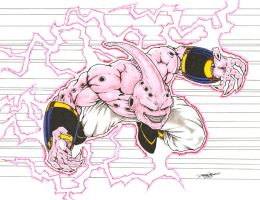 Kid Buu colors by -vassago-