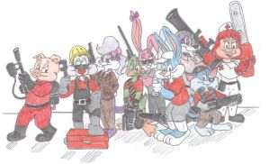 Toon Fortress 2 by Jose-Ramiro